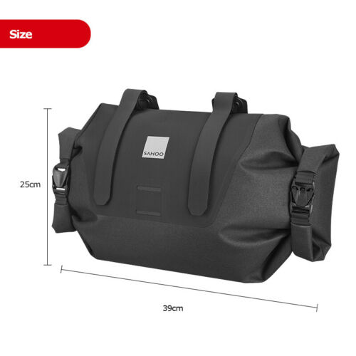 Waterproof 7L Adjustable Bicycle Cycling Bike Handlebar Bag Pack Pannier Sack