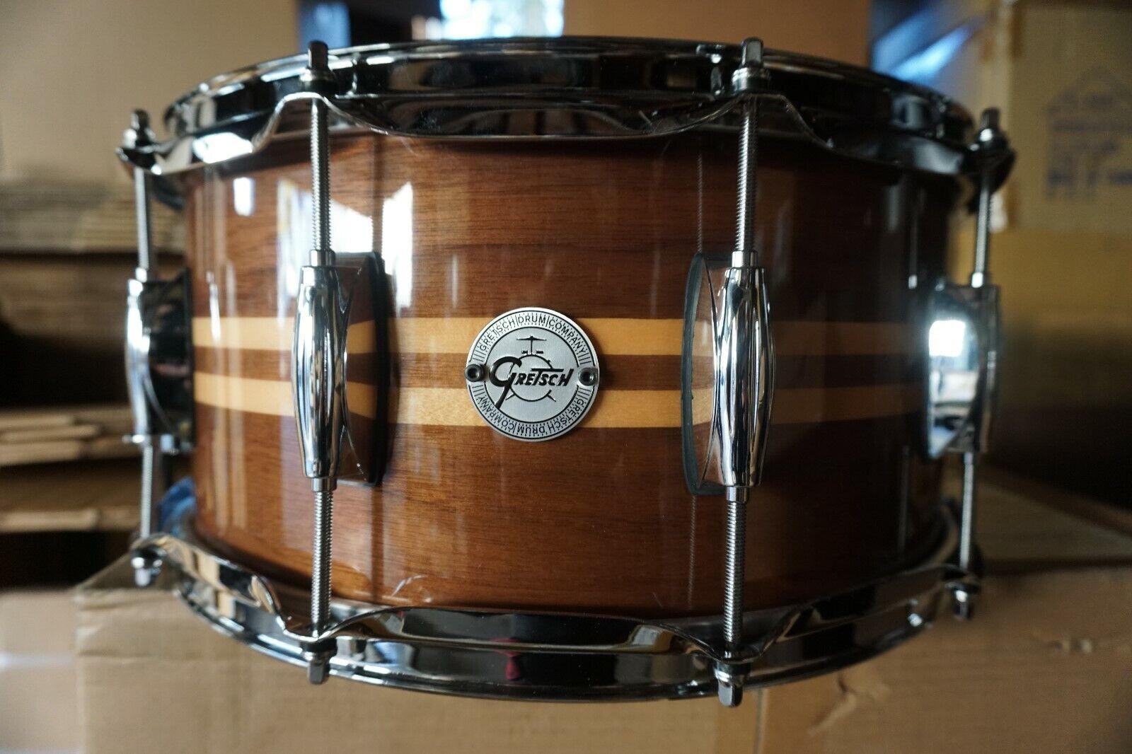 Gretsch Drums Full Range Series Gloss Walnut Snare W Maple 6.5 x 14  S1-6514W-MI