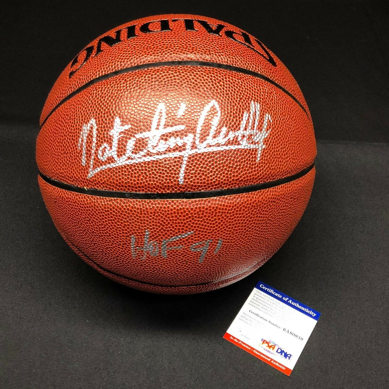 Nate Tiny Archibald Signed I/O Basketball