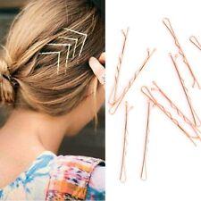 10 pcs Fashion Alloy Golden Hair Pins Wedding Hair Clip Party Gold Bob Pins Tone