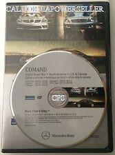 Navigation DVD for COMAND Mercedes Benz Map DVD Update 2013 NEW v.12 E SLK CLS