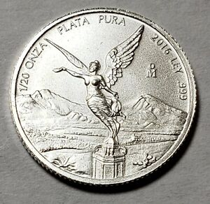 2016-Mexico-Mexican-Libertad-1-20-Onza-Ounce-Oz-Silver-Low-Mintage-22-900