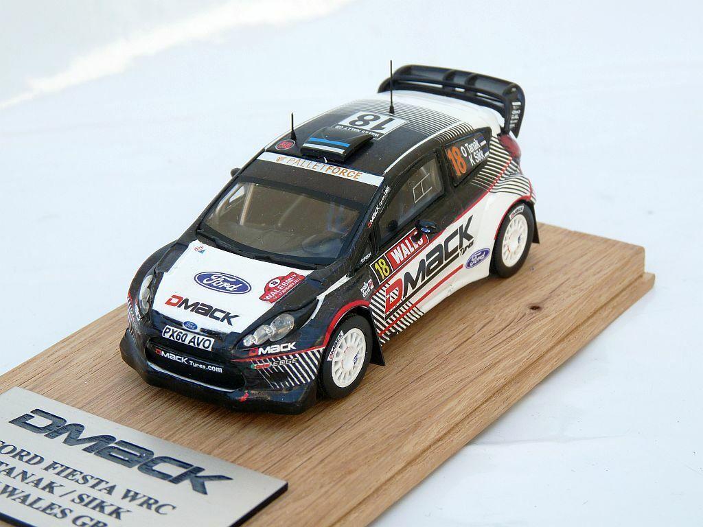 OTT TANAK   SIKK Ford Fiesta WRC Rally WALES GB 2012 1 43 scale