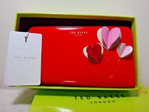 41577b3a1 Image is loading NWT-Ted-Baker-London-Tilda-Leather-ZA-Heart-