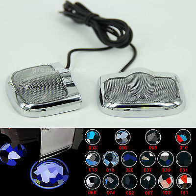 2X Car LED Logo Laser Projector Lights Step Door Welcome Ghost Shadow for BMW WV