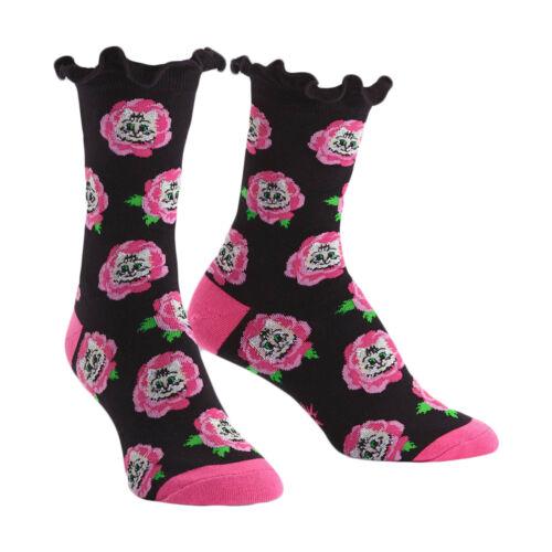 Sock It to Me Cat Buds Womens Crew Socks
