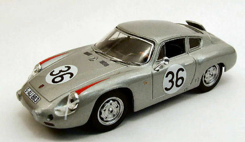 PORSCHE Abarth  36 10th Le Mans 1961 H. LINGE B. PON 1 43 Model Best MODELS
