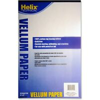 Helix Vellum Pad 11x17 50 Sheets White 37106 on Sale