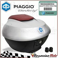 KIT BAULETTO 36 LT GRIGIO OPACO 760/B ORIGINALE PIAGGIO BEVERLY IE 350 2013 2014