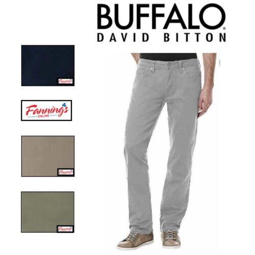 SALE Buffalo David Bitton Men/'s Sam-X Slim Straight Leg Stretch Jean VARIETY E11