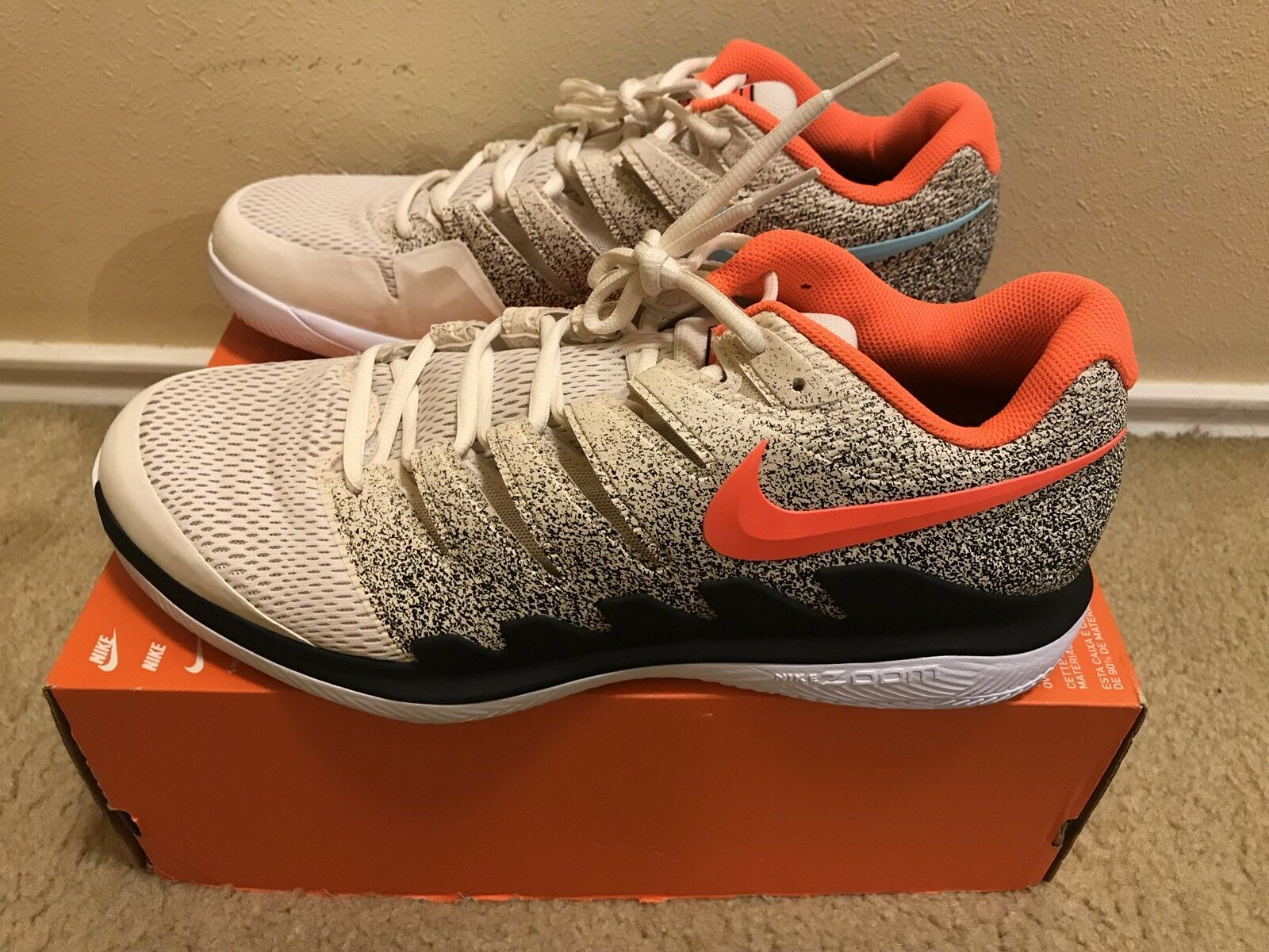 Nike Air Zoom Vapor X HC RF Roger Federer Men's Price reduction Comfortable and good-looking
