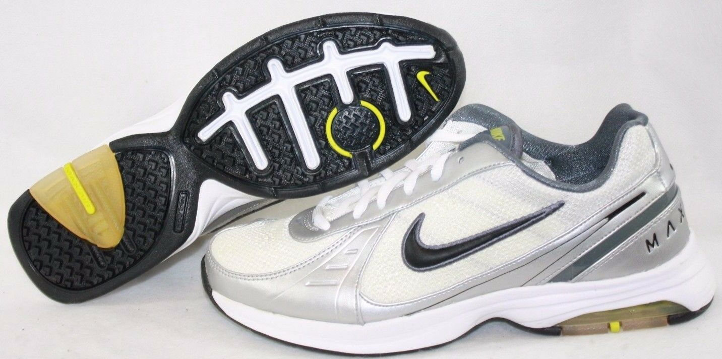 NEW Mens NIKE Air Max Train MSL 345329 101 White DEADSTOCK 2009 Sneakers Shoes