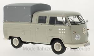 30080 vw t1 doka light grey 1960, 1 18 premium classixxs