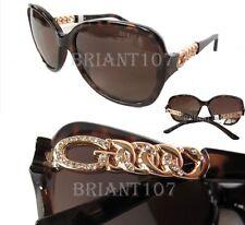 New GUESS GU7452 Havana/Brown Womens Sunglasses, Polarized Lens $80
