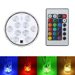 Led-Light-4X-Remote-Control-Color-Colored-Boundery-Style-Waterproof-Accent-Hot