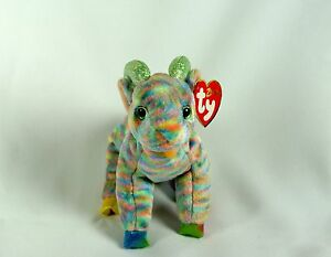 18635a1d2e6 Ty Beanie Baby Zodiac GOAT w  Tag ERRORS Plush Toy RARE PE NEW ...