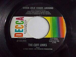 The-Cuff-Links-When-Julie-Comes-Around-Sally-Ann-45-1970-Decca-Vinyl-Record