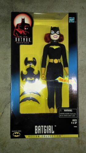 """RARE HASBRO BATGIRL BATMAN ANIMATED 12/"""" FIGURE MINT IN BOX 1998"""