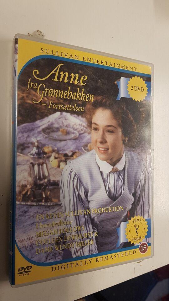 Anne fra Grønnebakken fortsættelsen, DVD, TV-serier