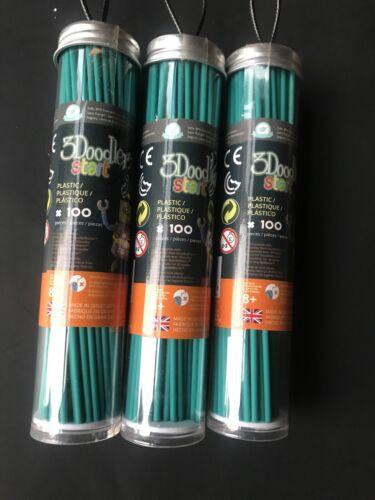 3doodler start refill 3 Pack of 100 Green A1