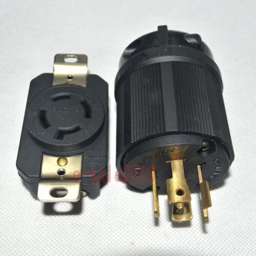 NEMA L14-20P L14-20R 20A 125//250V plug Connector for Generator Cord Assembly 581