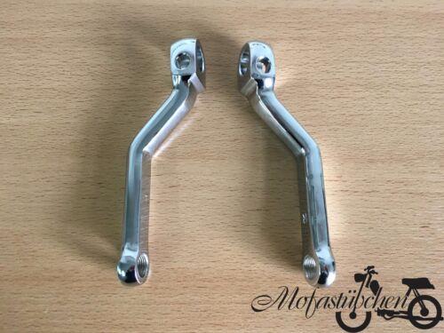 A-Qualität NEU 2 Pedalarme Tretkurbel Pedal Arm für Zündapp Mofa Moped 2A115