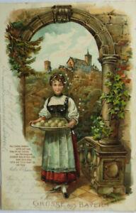 """""""Frauen, Gruss aus Bayern"""" 1907 ♥"""