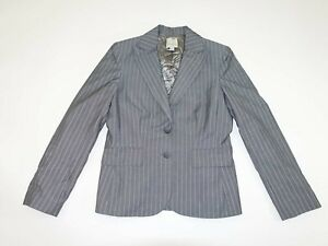Anne Klein Gray With Black Women's Casual Pants Size 4 X 32