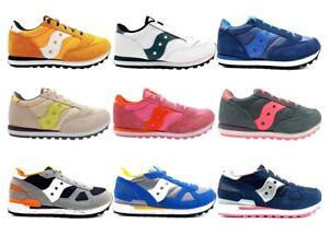 Saucony Jazz e Shadow Junior Sneakers Donna Bambini Scarpa Casual Sportiva