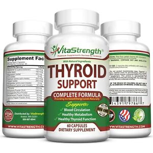 Thyroid Support - Complete Formula to Help Weight Loss & Improve Energy with ...