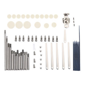 Pro-Clarinet-Repair-Parts-Screws-Parts-Clarinet-Springs-17-Pads-Tools-Kit-Set