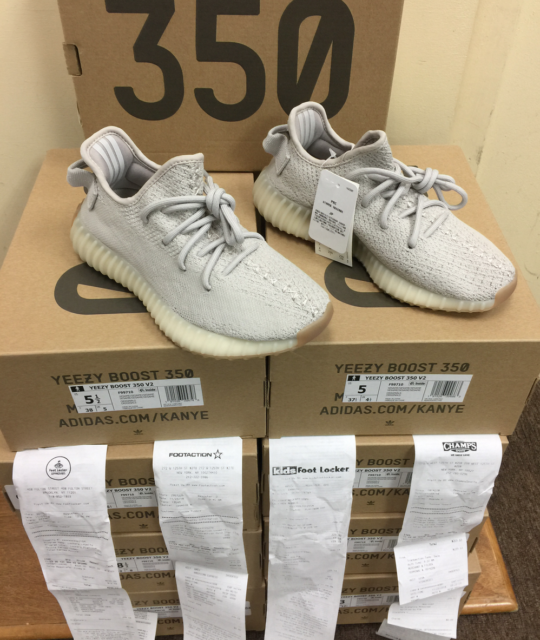new style 69419 77f40 adidas Yeezy Boost 350 V2 Sesame Kanye F99710 Size 9 for ...