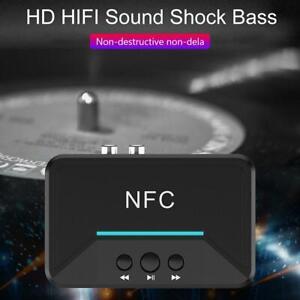 BT200-NFC-Bluetooth-5-0-Empfaenger-3-5mm-AUX-Adapter-Wireless-Audio-Receiver