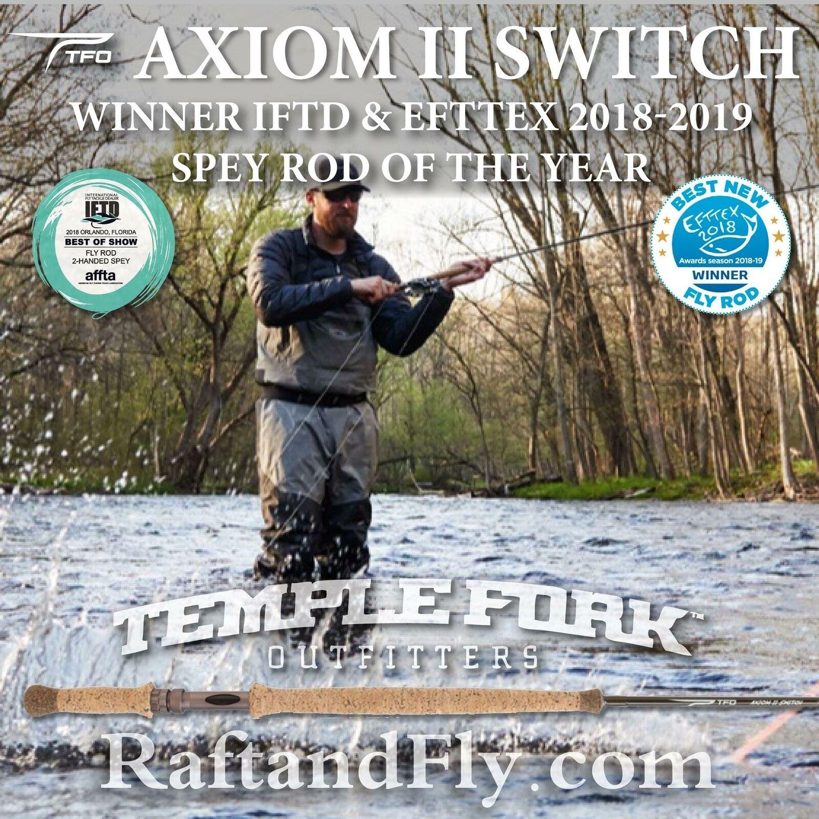 TFO Axiom II Switch 6wt - - - Lifetime Warranty - Free Shipping 40edbc