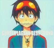 New 0873-4 Tengen Toppa Gurren Lagann Best Sound Anime Music SOUNDTRACK 2 CD