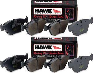for 97-04 Chevy C5 Corvette /& Z06 Hawk Ceramic Brake Pads Front /& Rear Set