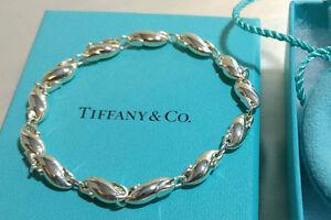 62bcf649e Tiffany & Co. Elsa Peretti Seahorse Link Bracelet 8.5 IN Sterling ...