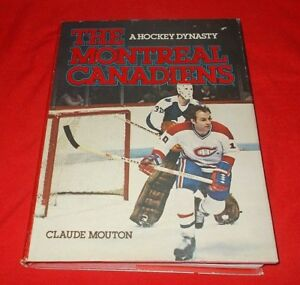034-The-Montreal-Canadiens-034-Claude-Mouton-1980-1st-Edition-HC-DJ-V-G