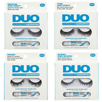 Duo Professional Eyelashes With Adhesive - Sterilized Human Hair Choose A Style