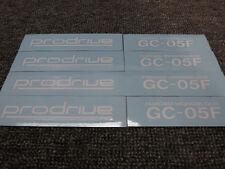 JDM New 4pc Sticker Decals 16-19 inch Rims Wheels Prodrive GC-05F GC05F ~White