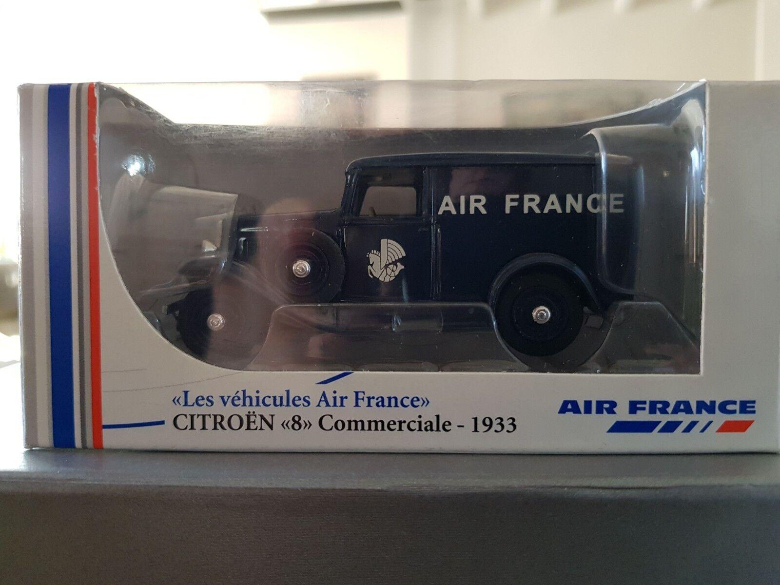 VOITURE  ELIGOR  CITROËN  8 Commerciale 1933  les véhicules Air France    1 43
