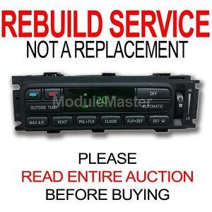 Details about Ford Lincoln Mercury EATC Climate Control Module Heater AC  REBUILD REPAIR