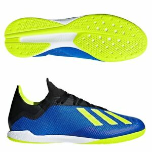 f1457b475 Adidas Adult's X TANGO 18.3 INDOOR SHOES Blue/Yellow - DB1954 | eBay