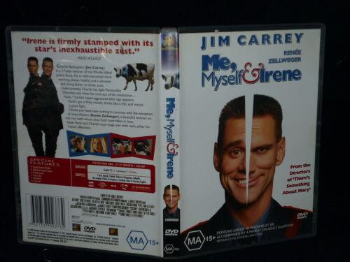 1 of 1 - ME, MYSELF & IRENE (DVD, MA 15+)