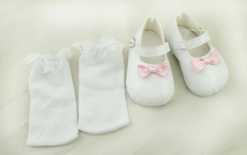 2019 White Shoes Cheap Fit For 22inch Reborn Baby Fashion Newborn Handmade Gifts