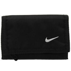 Nike-Basic-Geldbeutel-Geldboerse-Portemonnaie-Wallet-schwarz-Herren-Damen-Kinder