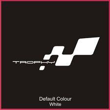 Renaultsport Trophy Bumper Flag Decal, Vinyl, Sticker, Graphics Clio, N2051
