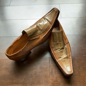 Vintage Gucci Python Leather Oxford