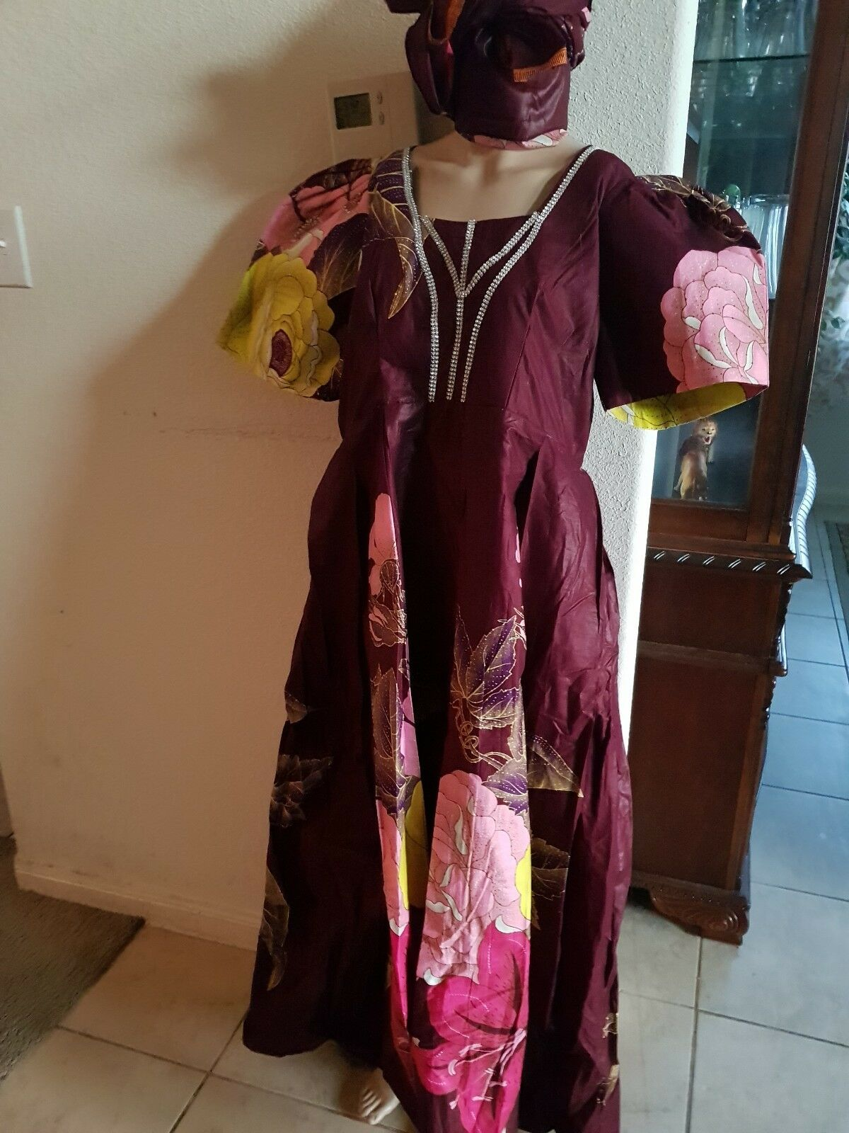 African woman daski.robe dress  color like like like the picture.  Multicolor a292f8