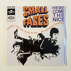 SMALL-FACES-New-Remastered-French-CD-HERE-COME-THE-NICE-EP